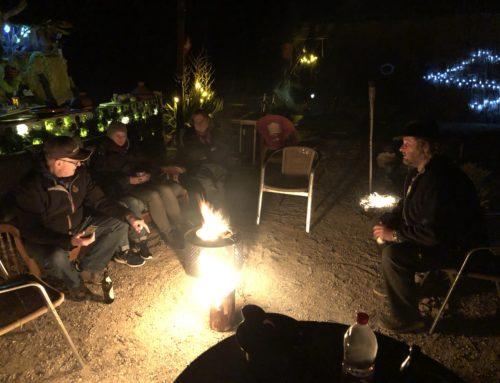 Wieder zu Besuch auf der Finca Caravana