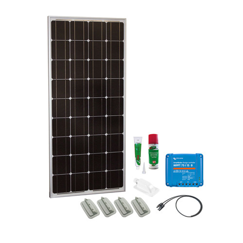 Caravan Kit Base Camp Easy MPPT Smart Solar 100Wp 3