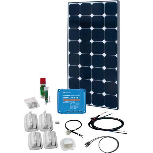 Caravan Kit Solar Peak Ten 110Wp 1