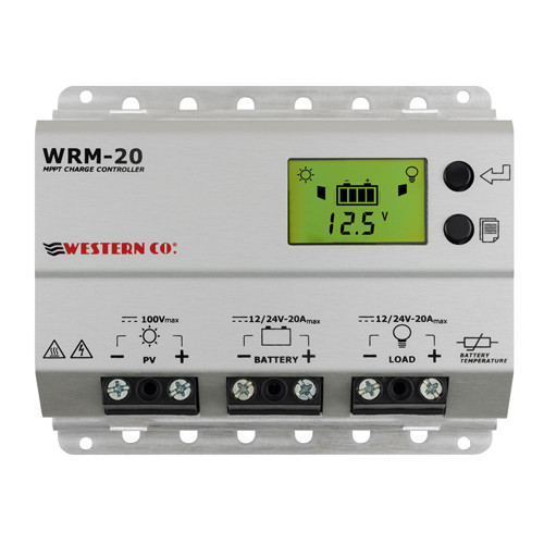 Western Solarladeregler MPPT WRM20 5