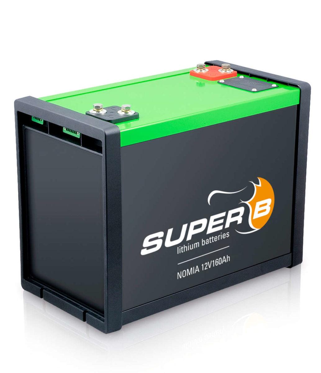 Lithium Batterie Super B 12V 160Ah 3