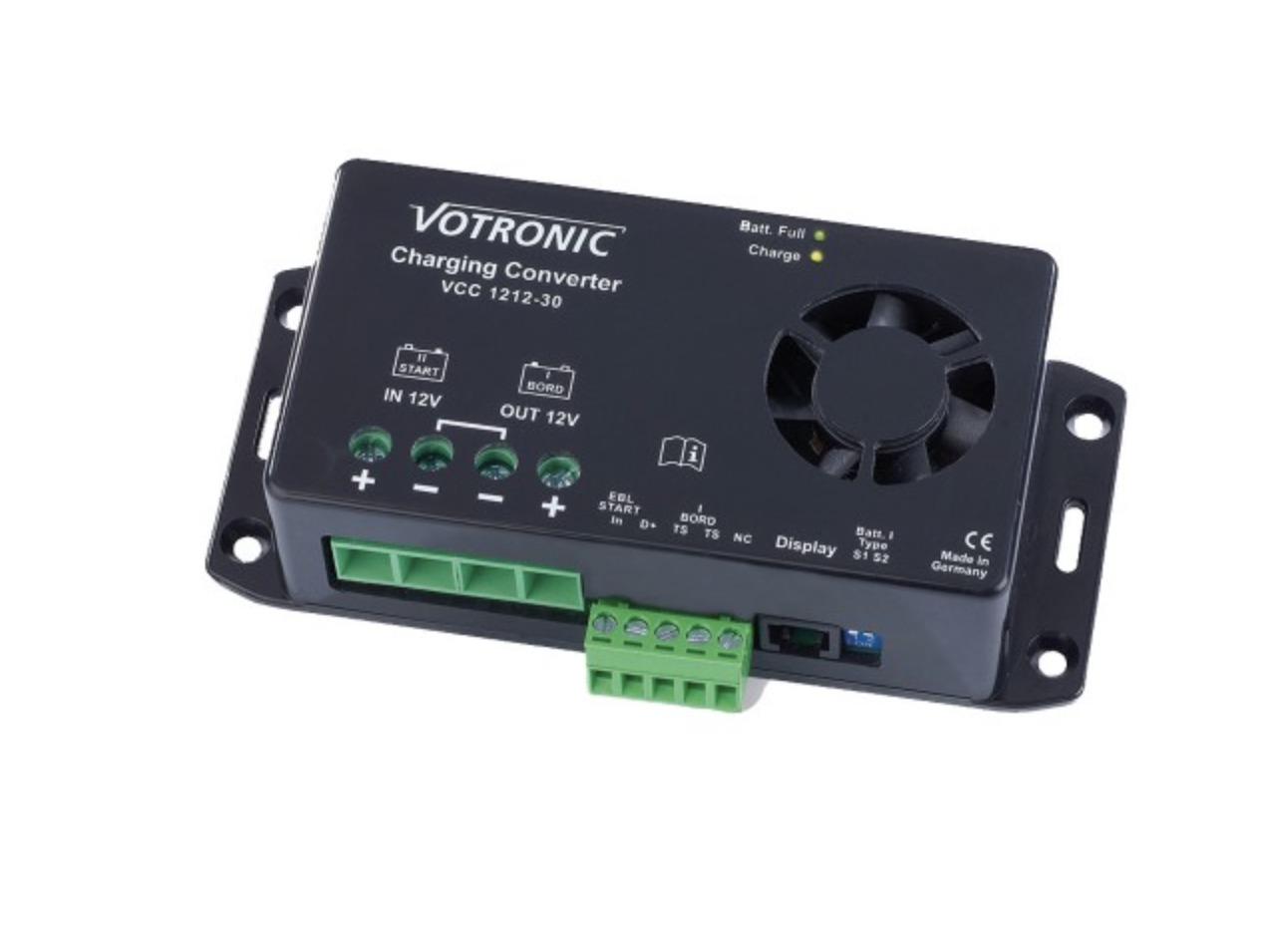 Votronic Ladebooster 12V/12V - 30A 5