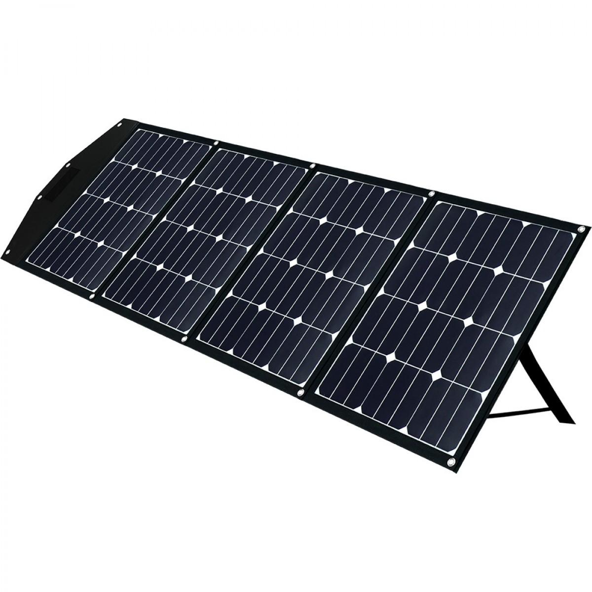 Faltmodul 4x40Wp mit MPPT Solarladeregler 2