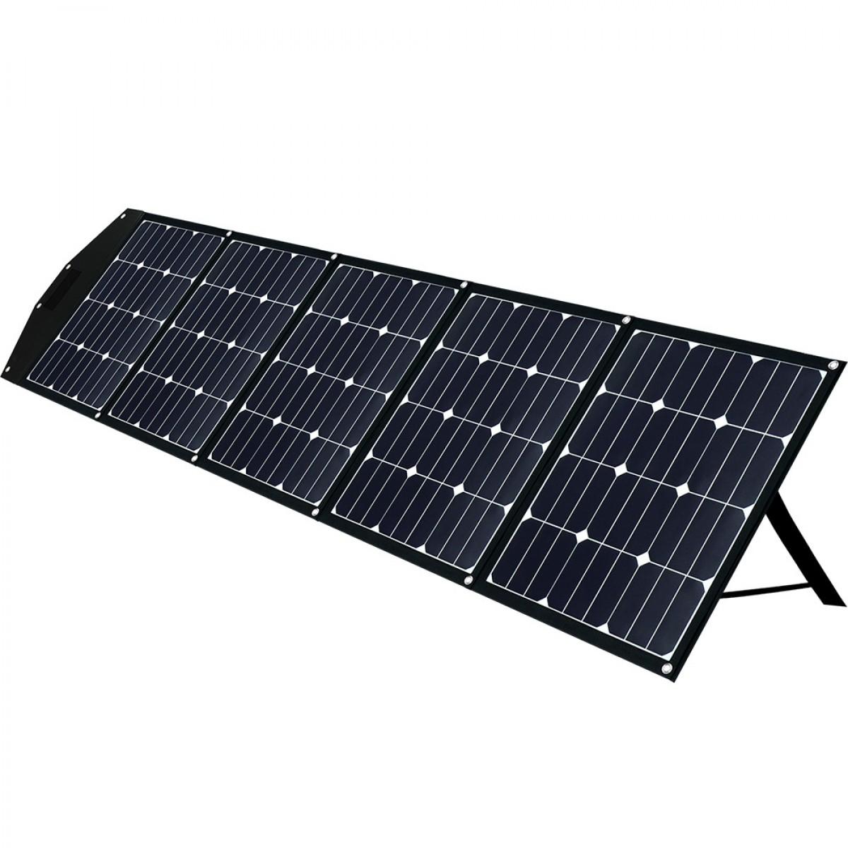 Faltmodul 5x40Wp mit MPPT Solarladeregler 2