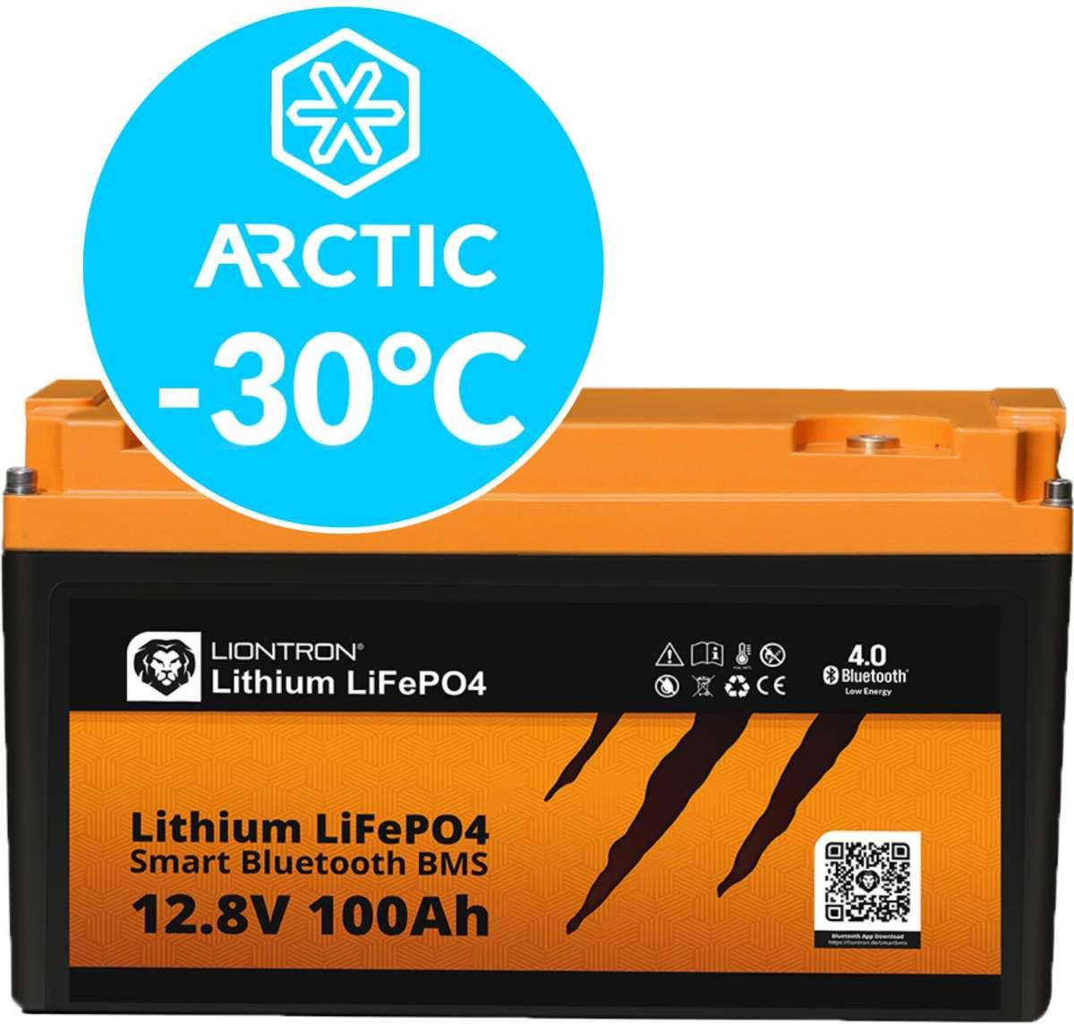 Liontron LiFePO4 LX Smart BMS 12.8V 100Ah Arctic 4