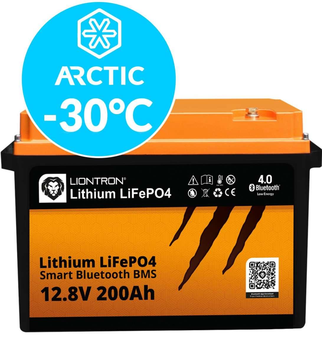 Liontron LiFePO4 LX Smart BMS 12.8V 200Ah Arctic 6