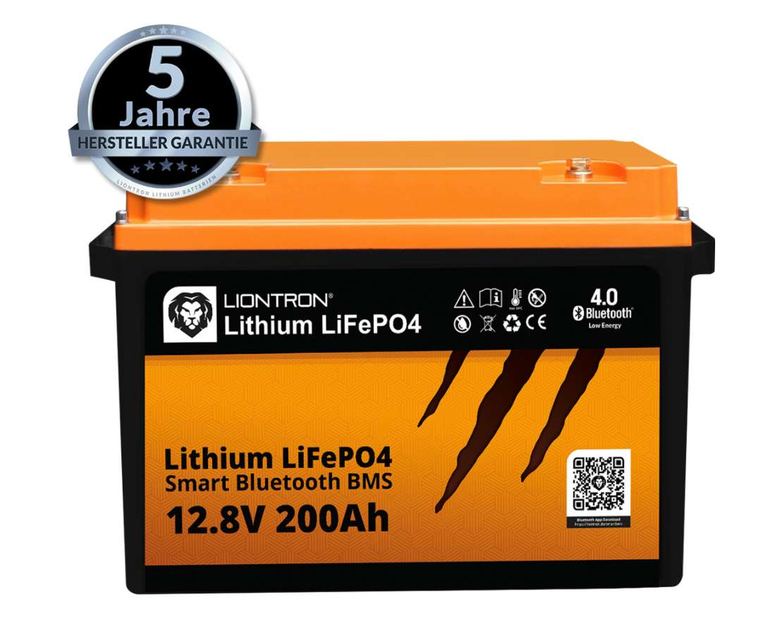 Liontron LiFePO4 LX Smart BMS 12.8V 200Ah 2