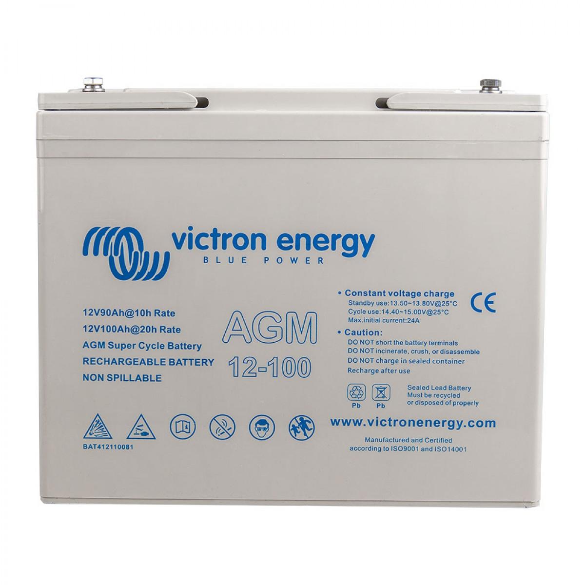Victron Super Cycle AGM 12V 100Ah 4