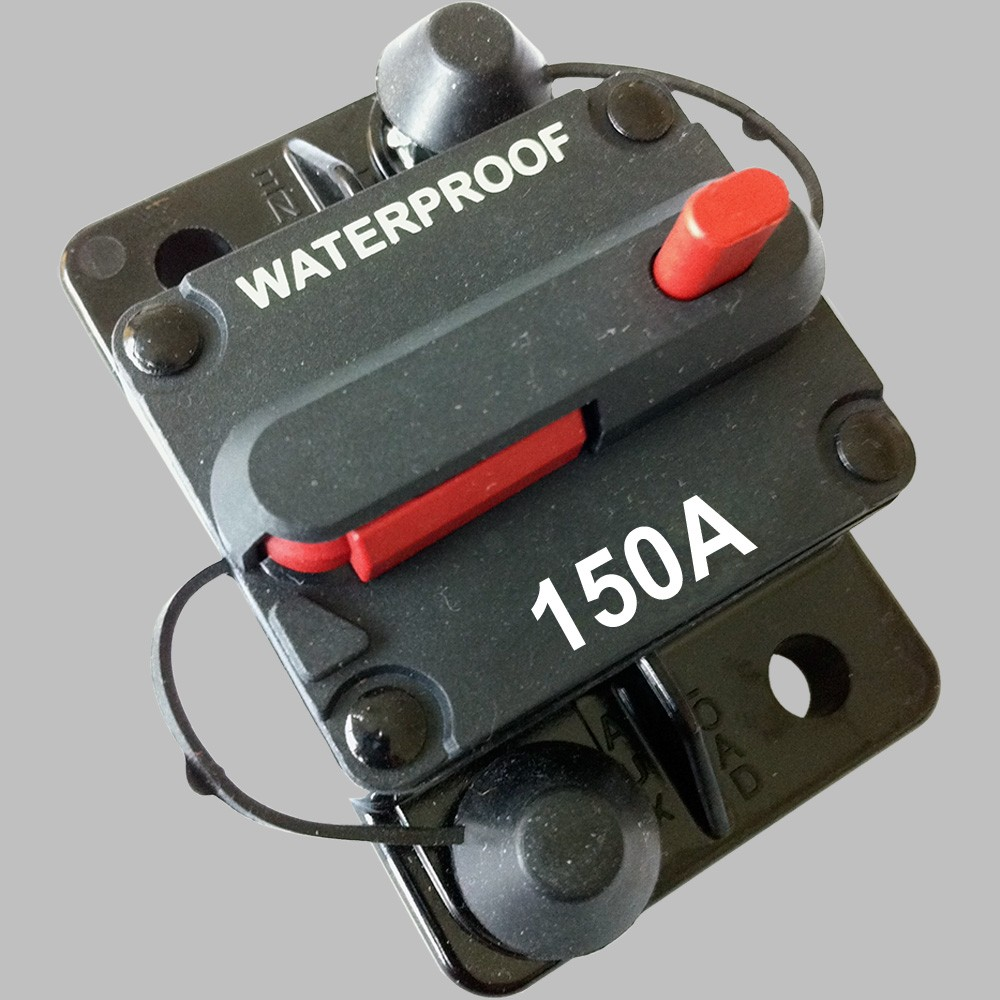 150A Sicherungs-Automat mit Resetschalter 1