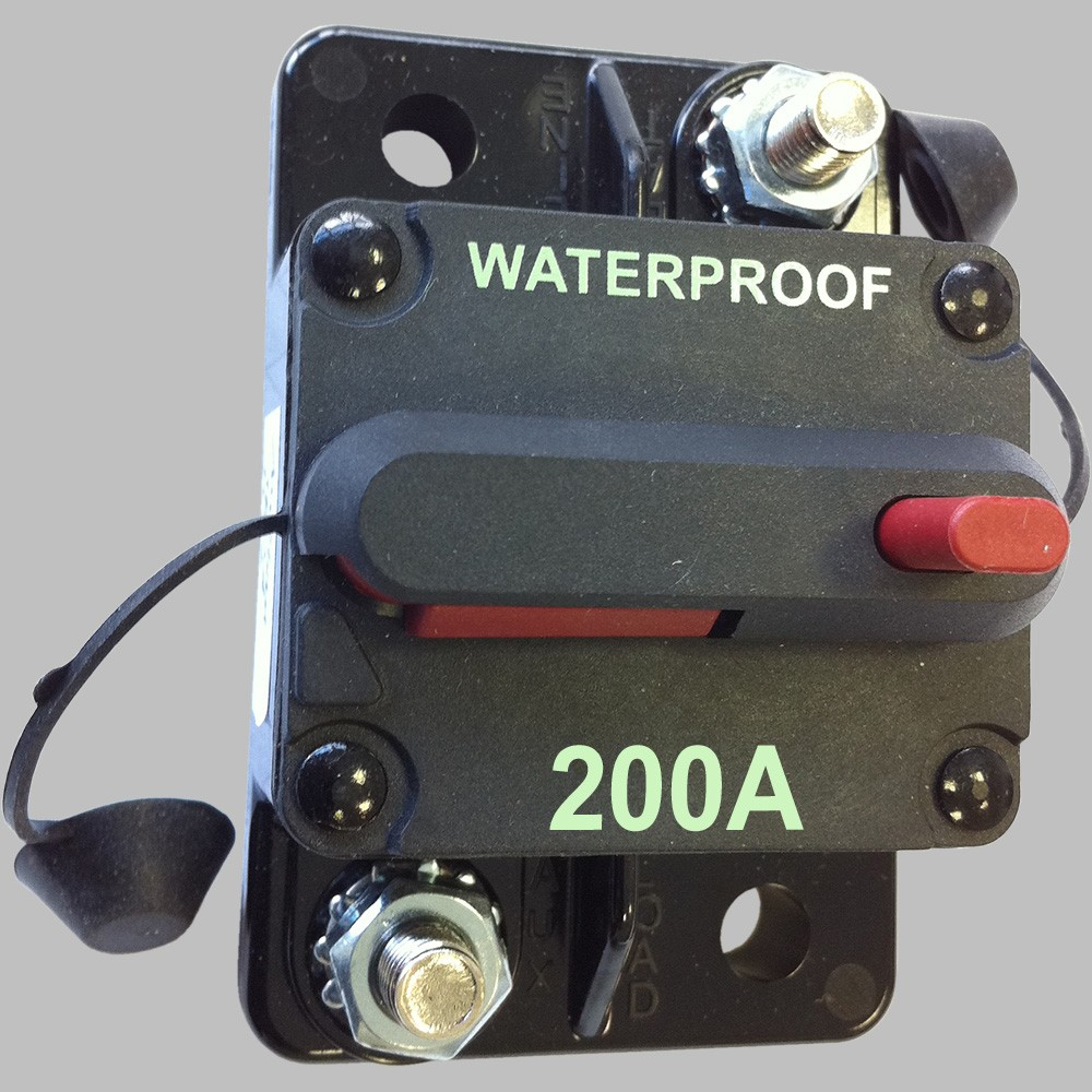 200A Sicherungs-Automat mit Resetschalter 2