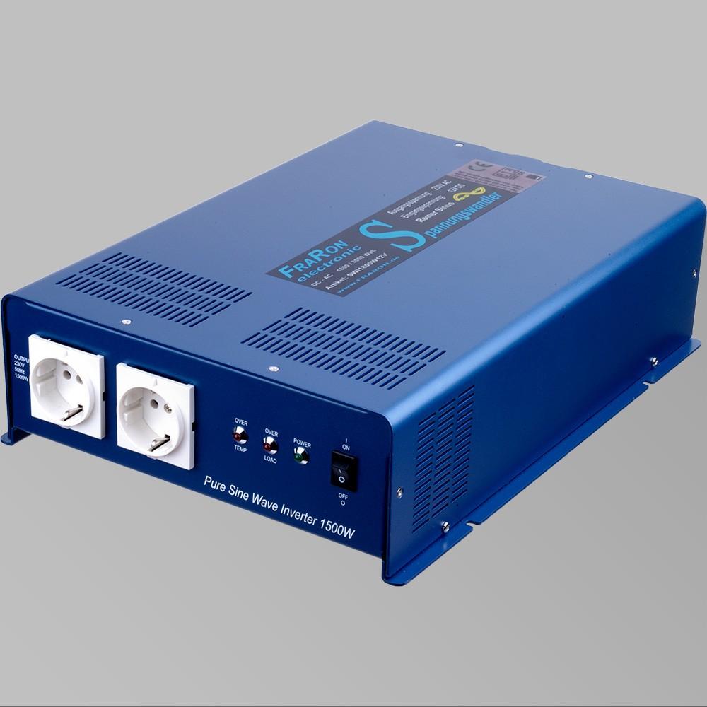 12V Wechselrichter reiner Sinus 1800W mit Fernbedienung 2
