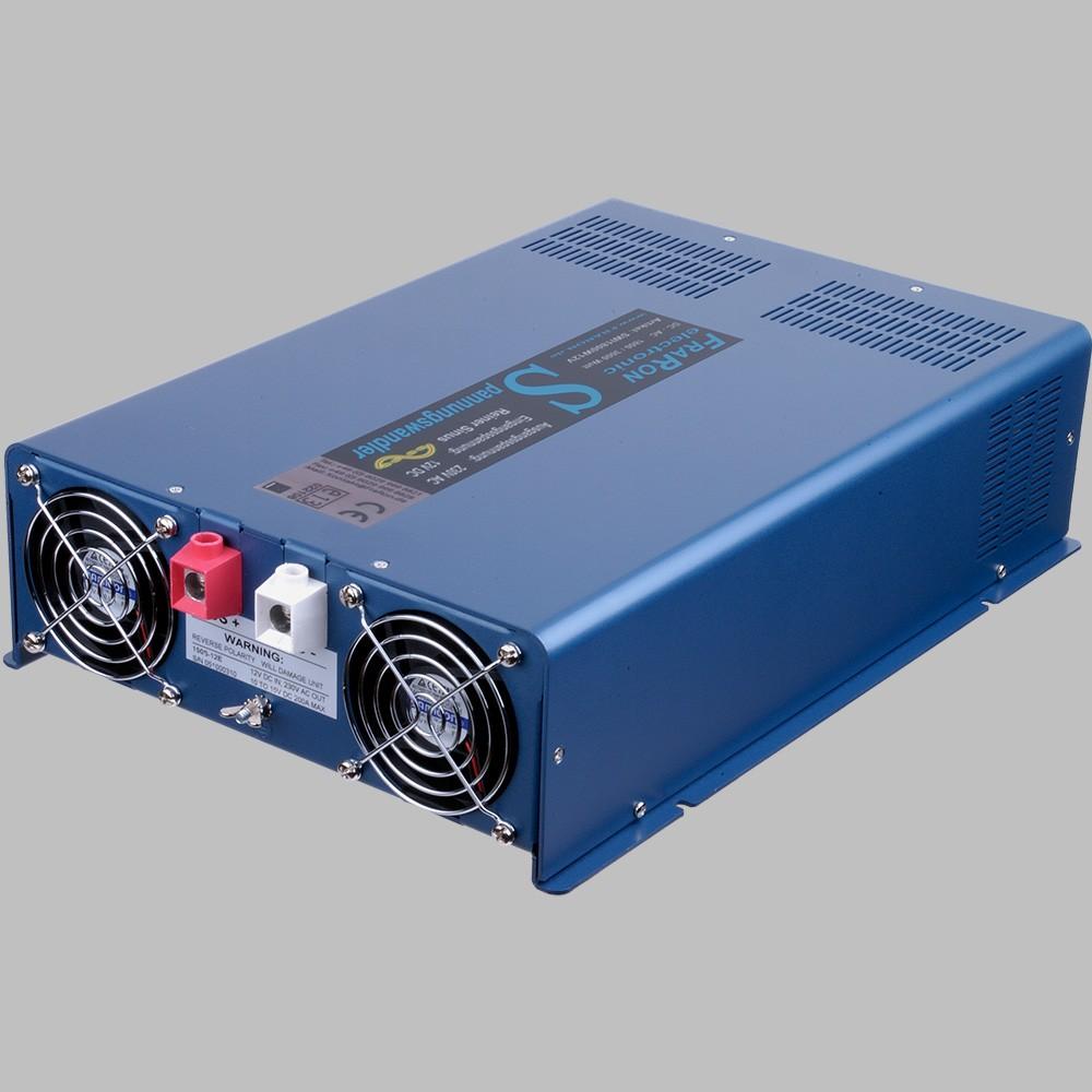 12V Wechselrichter reiner Sinus 2200W mit Fernbedienung 2