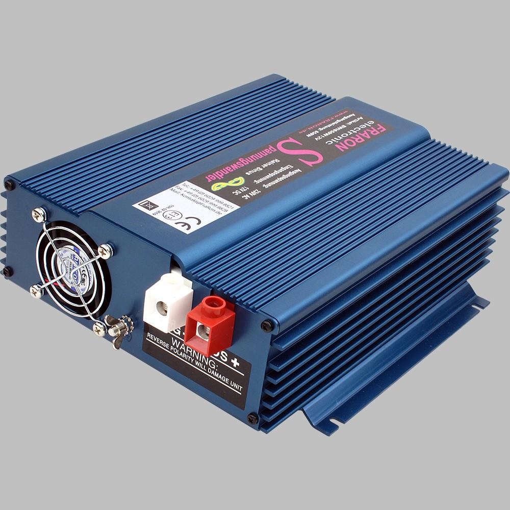 12V Wechselrichter reiner Sinus 650W mit Fernbedienung 2