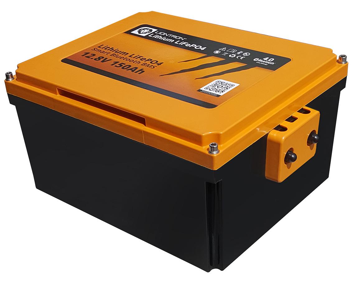 Liontron LiFePO4 Smart Wohnmobil Untersitz Batterie 12.8V 150Ah 9