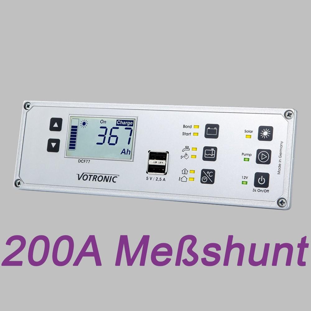 Multi-Panel-System, LCD Anzeige, 12V, Batteriemonitor und 200A Shunt 3